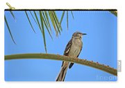 Mockingbird In A Palm Tree Carry-all Pouch
