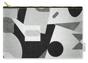 Mod, Grayscale Carry-all Pouch