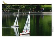 Model Boats Central Park New York Carry-all Pouch