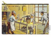 Model Kitchen, 1900s French Postcard Carry-all Pouch