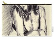 Model Quick Drawing Carry-all Pouch