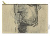 Model Study Of Standing Half-naked Man, For Seeing Down, George Hendrik Breitner, 1867 - 1923 Carry-all Pouch