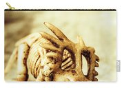 Model Styracosaurus Skeleton Carry-all Pouch
