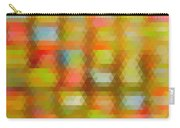 Modern Abstract Mosaic Color Combination 4 Carry-all Pouch