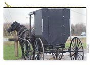 Modern Amish Horse And Buggy Carry-all Pouch