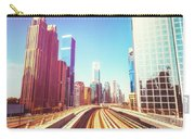 Modern Architecture Of Dubai Seen From A Metro Car. Carry-all Pouch