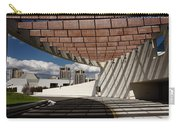 Modern Architecture Of Ismaili Centre Entrance With Aga Khan Mus Carry-all Pouch