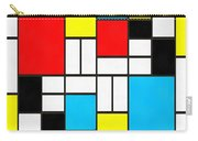 Modern Art Square Carry-all Pouch
