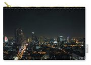Modern Buildings In Silom Area Of Bangkok Thailand At Night Carry-all Pouch