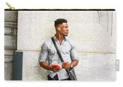 Modern College Student In New York Carry-all Pouch
