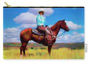 Modern Cowboy Carry-all Pouch