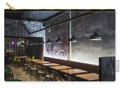 Modern Industrial Contemporary Interior Design Restaurant Carry-all Pouch