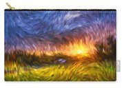 Modern Landscape Van Gogh Style Carry-all Pouch