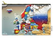 Modern Portrait Of Modern Europe - 3d Carry-all Pouch