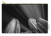 Modern Skyscraper Black And White Picture Carry-all Pouch by Stefano Senise