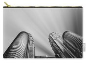 Modern Skyscraper Black And White  Carry-all Pouch