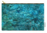 Modern Turquoise Art - Deep Mystery - Sharon Cummings Carry-all Pouch