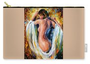 Modest Girl Carry-all Pouch by Leonid Afremov