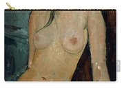 Modigliani: Nude, C1917 Carry-all Pouch