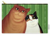 Moggies Carry-all Pouch by Magdolna Ban