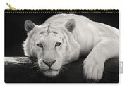 Mohan The White Tiger Carry-all Pouch