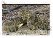 Mohave Green Rattlesnake Striking Position 3 Carry-all Pouch