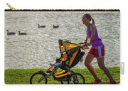 Moher And Child Jogging Carry-all Pouch