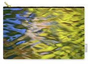 Mojave Gold Mosaic Abstract Art Carry-all Pouch