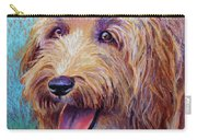 Mojo The Shaggy Dog Carry-all Pouch