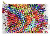 Molecular Floral Abstract Carry-all Pouch