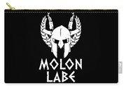 Molon Labe Spartan Warrior Helmet Rifles Carry-all Pouch