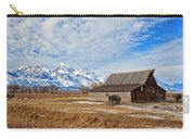 Molten Barn And Tetons 4 Carry-all Pouch
