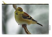 Molting In January? - American Goldfinch Carry-all Pouch