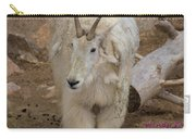 Molting Mountain Goat Carry-all Pouch