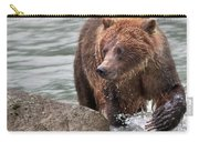Mom Hunts Haines, Alaska Carry-all Pouch