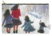 Mom Three Daughters Rain Carry-all Pouch