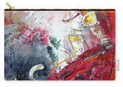 Moment Of Truth 2010 Carry-all Pouch by Miki De Goodaboom