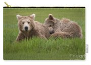 Momma And Cub Carry-all Pouch