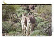 Mommy And Baby Burro Carry-all Pouch