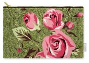 Mom's Day Elegance Vintage Rose Carry-all Pouch