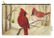 Mom's Favorite Redbirds Carry-all Pouch