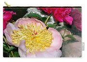 Mom's Peonies Carry-all Pouch