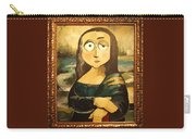 Mona In A Guilded Frame Carry-all Pouch