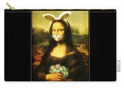 Mona Lisa Bunny Carry-all Pouch