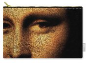 Mona Lisa Eyes 3 Carry-all Pouch