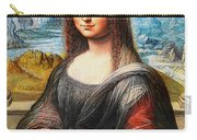 Mona Lisa Painting Carry-all Pouch