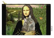 Mona Lisas Norwegian Forest Cat Carry-all Pouch