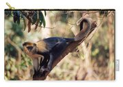Mona Monkey In A Tree Carry-all Pouch
