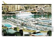 Monaco Grand Prix Racing Poster - Original Art Work Carry-all Pouch
