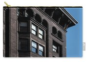 Monadnock Building Cornice Chicago B W Carry-all Pouch